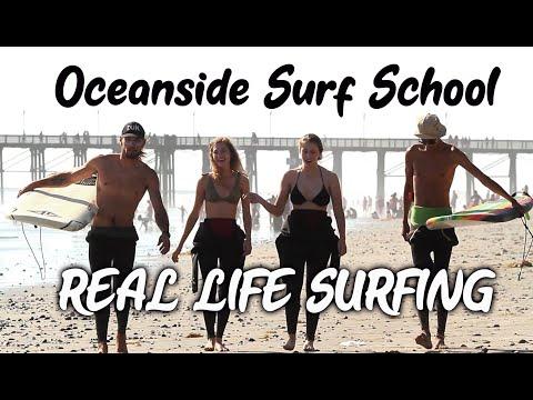 Oceanside Surf School - Real Life Surfing