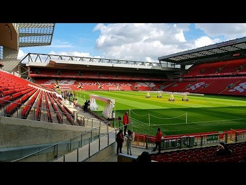 TOUR OF ANFIELD (TRIP TO LIVERPOOL DAY 4)