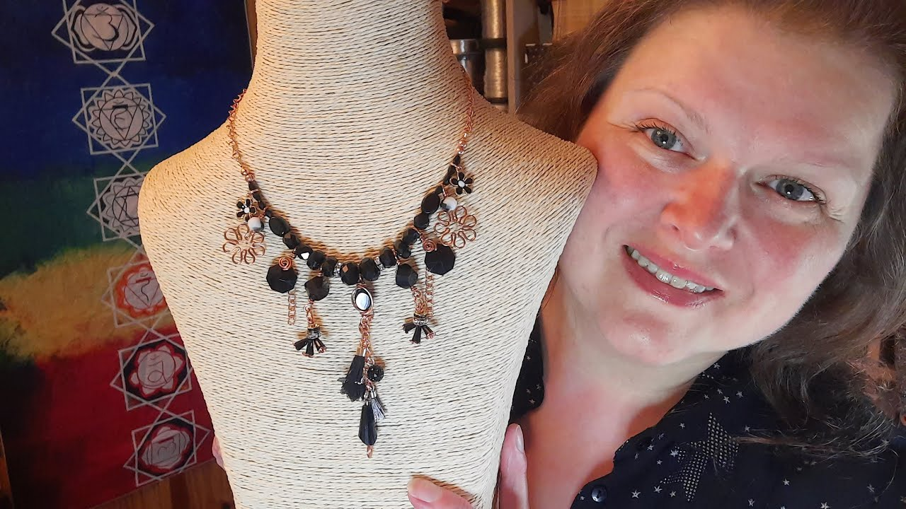 Make a Wire-Wrapped Boho Necklace with Jem Hawkes