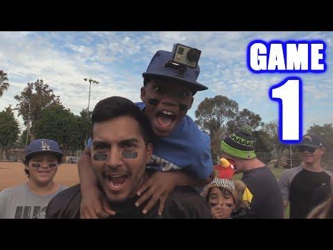 GREATEST FOOTBALL GAME EVER!  | On-Season Football Series | Game 1