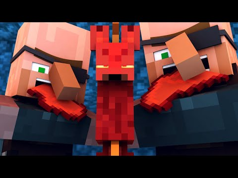 Villager Vs Pillager Life 9 [COVID-19] - Minecraft Animation