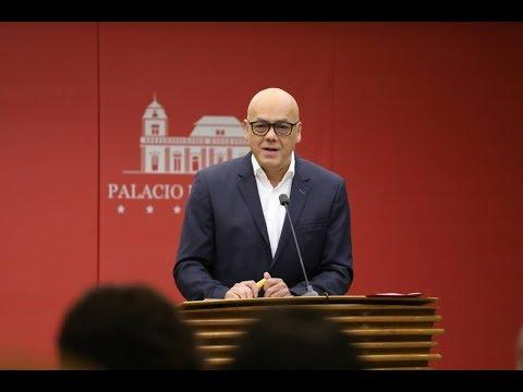 Jorge Rodríguez, Rueda de prensa completa este 5 febrero 2018