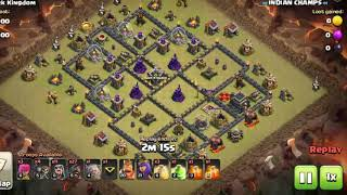 How to clear this troll base | GoBoHogs Strategy | Clash With Indian Champs
