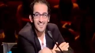 Title: arab got talent 2013 احمد حلمي يحرج ناصر القصبي