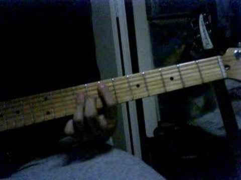 Guitar Chord Demo Play The Knickerbockerslies Youtube