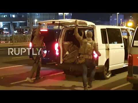 """Austria: Manhunt underway after """"terror attack"""" in several locations in Vienna"""