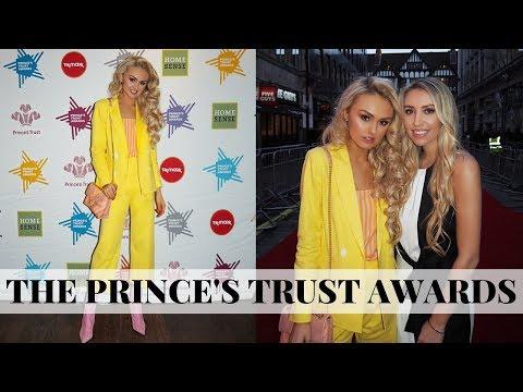 London Vlog // The Prince's Trust Awards // TOM HARDY 😍
