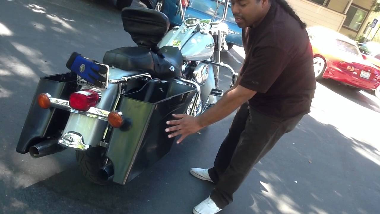 Harley Davidson Extended Stretched Saddle Bags At Fairingplus