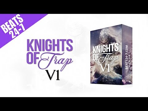 "FREE Drum Kit 2017 - Hip Hop Rap Producer Sounds Kits | ""Knights Of Trap Vol. 1"" - Beats24-7"