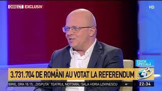 Datele finale de prezenţă la referendum. Au votat 3.731.704 de români