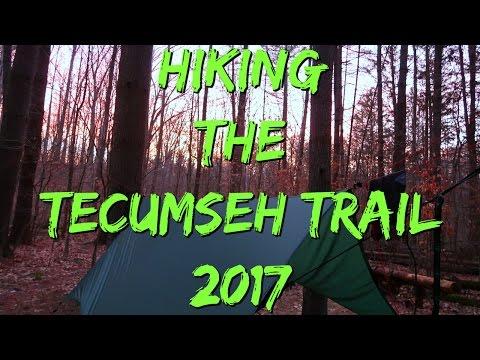 Hiking the Tecumseh Trail 2017
