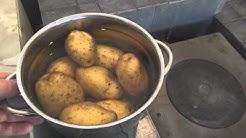 Minä kysyn sinä vastaat - perunoiden keittäminen