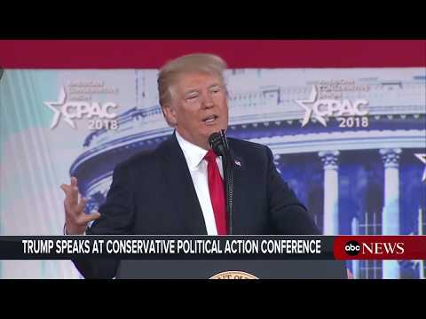 President Donald Trump delivers remarks at CPAC conference | ABC News
