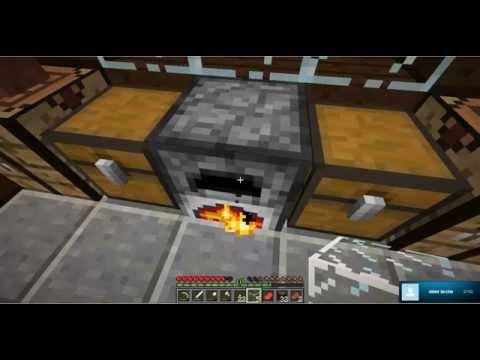 Minecraft - Hus bygning og mine gravning (Dansk) #02