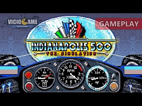 Indianapolis 500 (1989) - Gameplay