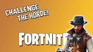 [Fortnite] I Missed This So Much! | Challenge The Horde | Wild Fragment Deadeye