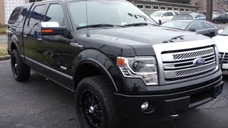 2014 Ford F-150 Ecoboost Platinum Walkaround, Start up, Tour and Overview