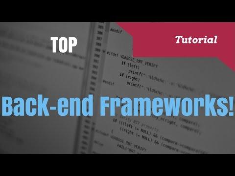 Top Back-End Web Development Frameworks in 2017