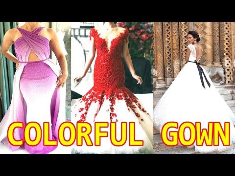colorful-wedding-gown-dresses-from-bridal-fashion-week-2018