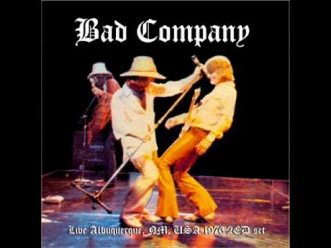 Bad Company - Live For The Music (Live in Albuquerque 1976)