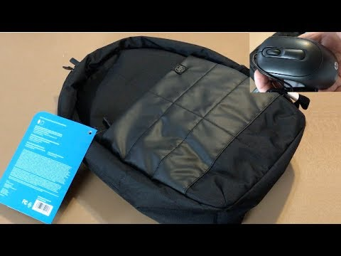 84b34cd7c2e8f1 HP 15-inch Laptop Backpack and Wired USB Mouse - YouTube