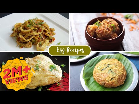 Creative ways to cook Eggs | Egg Recipes | Egg Snacks | Breakfast Recipes | Home Cooking Show