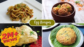 Creative ways to cook Eggs | Egg Recipes