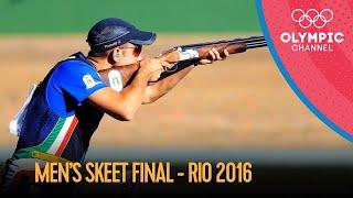 Men's Skeet Shooting Final | Rio 2016 Replays