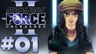 Star Wars: The Force Unleashed II Walkthrough w/ Ardy | Part 1: Kamino Escape
