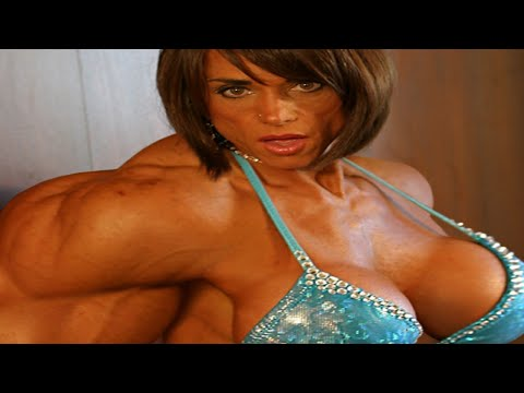 FEMALE BODYBUILDER,- YEON WOO JHI, IFBB MUSCLE, GYM WORKOUT,