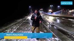 wetteronline.de: Wetterreporter: Sturm-Update aus Dagebüll (29.11.2015)