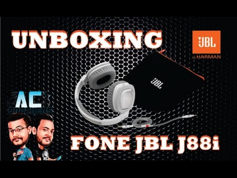 FONE JBL J88i | Unboxing e Review Completo
