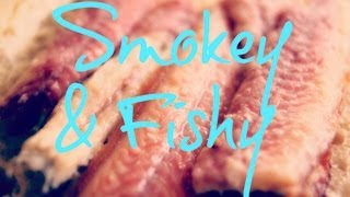 Smoking Fish On The Big Green Egg - Gerookte Paling - Pitmaster X