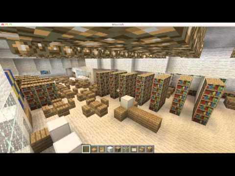 Punahou Academy in Minecraft
