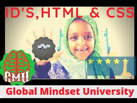 Introduction To IDs In HTML & CSS   Learn HTML, CSS & JavaScript With Ashadiee   HTML Tutorial