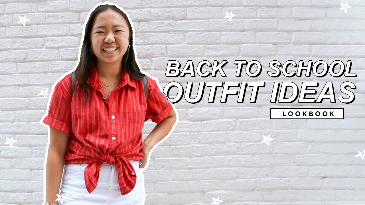 ?BACK TO SCHOOL OUTFIT IDEAS (LOOKBOOK) 2019 6