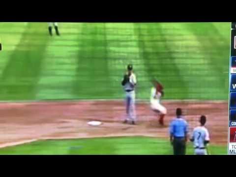 Odor right hook MiLB 2011 minor league baseball