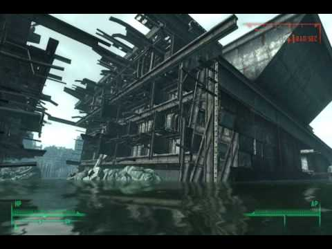 fallout 3 how to enter broken bow in rivet city youtube