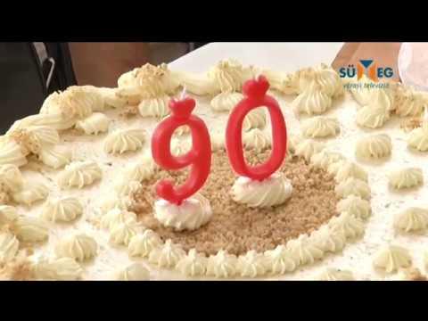 90 éves születésnapra köszöntő 90 éves születésnapot ünnepeltek az idősek otthonában   YouTube 90 éves születésnapra köszöntő
