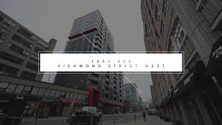 SOLD!! 1001-435 Richmond St W Toronto | Virtual Tour