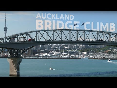 Auckland Harbour Bridge Climb - Video