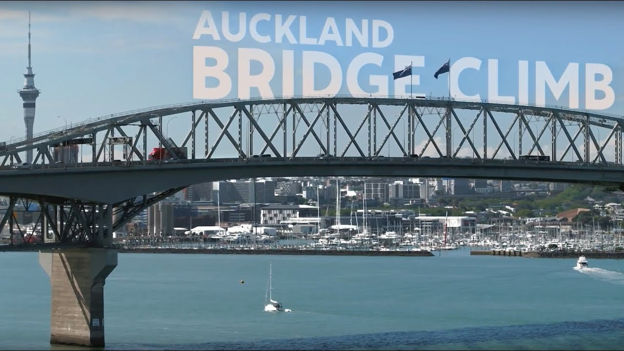 video Auckland Bridge Climb