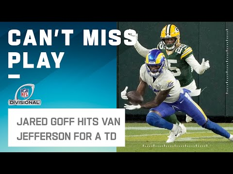Goff Fires Back w/ Quick TD to Van Jefferson!