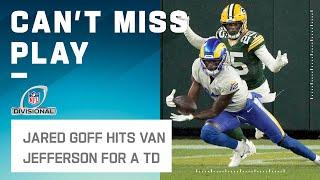 Goff Fires Back w/ Quick TD to Van Jefferson!