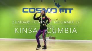 KINSA (Cumbia) MegaMix 57 || ZUMBA® TONING || Cosmofit Dance Studio