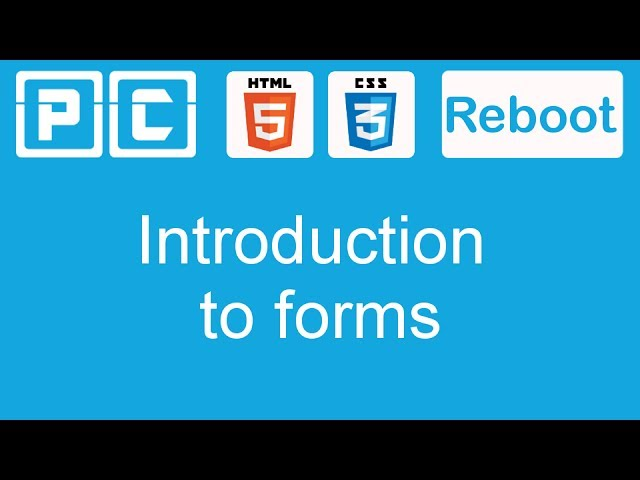 HTML5 and CSS3 beginners tutorial 44 - introduction to forms