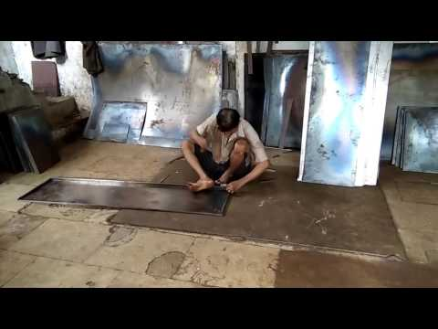 MAKING OF STEEL FURNITURE |Short Film 2016 | Yes Foundation |