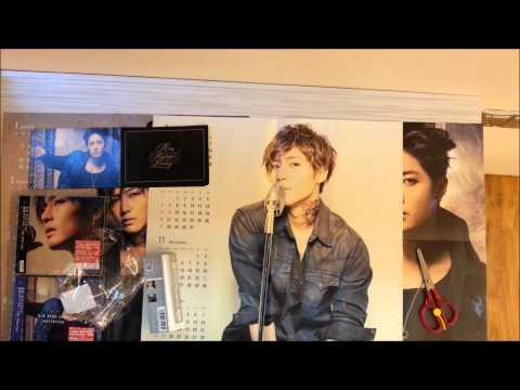 Kim Hyun Joong 1st Full Length Japanese album 「Unlimited」 normal version unboxing