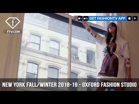 New York Fashion Week Fall/Winter 18 19 - Oxford Fashion Studio | FashionTV | FTV