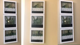 Dollar Tree DIY || 💕Spring Wall Terrarium || 2019 Home Decor 💕
